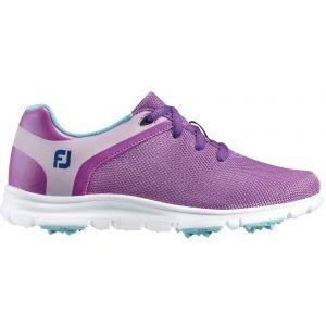 FootJoy Junior Girls Sport SL Golf Shoes Purple - 48207