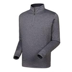 FootJoy 1/2 Zip Golf Pullover Heather Charcoal - 27277