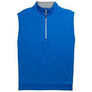 FootJoy Half-Zip Jersey Golf Vest - Royal 25089