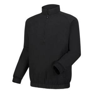 FootJoy 1/2 Zip Golf Windshirt Black - 23505