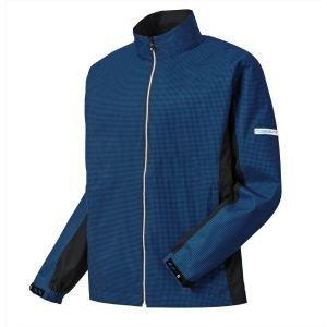 FootJoy Hydrolite Golf Rain Jacket Royal/Black Houndstooth - 23773