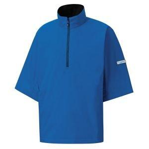 FootJoy Hydrolite Short Sleeve Rain Shirt Royal/Black 23789
