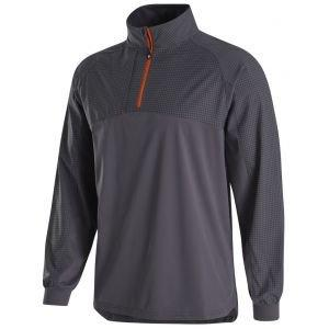 FootJoy HyperFlex Golf Pullover Charcoal/Black Check 32671