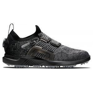 FootJoy HyperFlex Boa Golf Shoes Black/Black