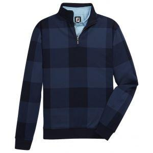 FootJoy Jersey Fleece Quarter-Zip Golf Pullover