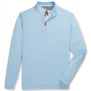 FootJoy Lightweight Quarter-Zip Golf Pullover Light/Blue 25149