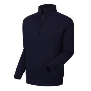 FootJoy Lined Performance 1/4 Zip Golf Sweater Navy - 33856