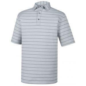 FootJoy Lisle Double Pinstripe Self Collar Golf Polo