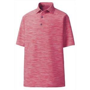 FootJoy Lisle Space Dyed Self Collar Golf Polo - 22324