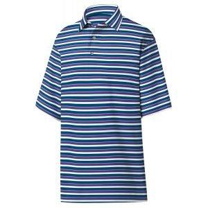 FootJoy Lisle Multi Stripe Self Collar Golf Polo 26201