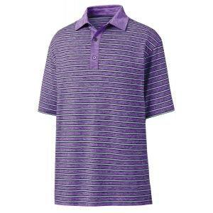 FootJoy Lisle Stripe Self Collar Golf Polo - 26183