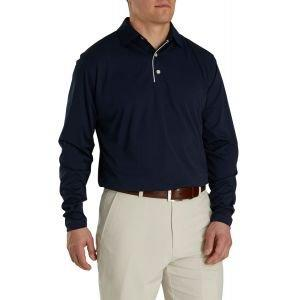 FootJoy Long Sleeve Sun Protection Golf Shirt Navy 26234