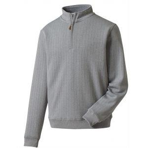 FootJoy Performance Drop Needle Pullover Heather Grey - 27272