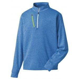 FootJoy Performance 1/2 Zip Pullover Heather Royal - 27283