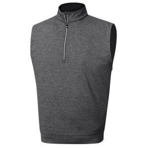 FootJoy Performance 1/2 Zip Vest Charcoal - 23012
