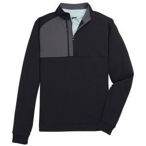 FootJoy Pique Sport Mid-Layer Golf Pullover Black 25155