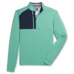 FootJoy Pique Sport Mid-Layer Half-Zip Golf Pullover
