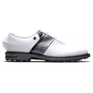 FootJoy Premiere Series Packard Boa Golf Shoes White/Black/Grey