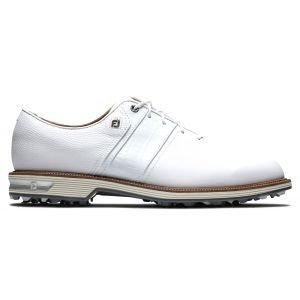 FootJoy Premiere Series Packard Golf Shoes White/White Speed Saddle