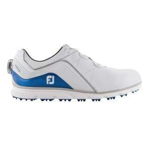 FootJoy Pro/SL BOA Spikeless Golf Shoes White/Blue