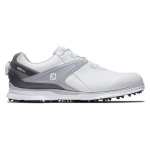 FootJoy PRO/SL Boa Golf Shoes 2020 - White/Grey 53817
