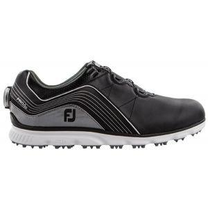 FootJoy Pro/SL Boa Golf Shoes - Black/Silver 53275