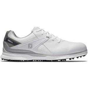 FootJoy Pro/SL Golf Shoes White/Grey 2020