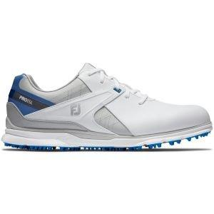 FootJoy Pro/SL Golf Shoes White/Blue/Grey 2020