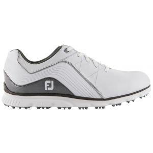 FootJoy Pro/SL Spikeless Golf Shoes White/Silver - 53267