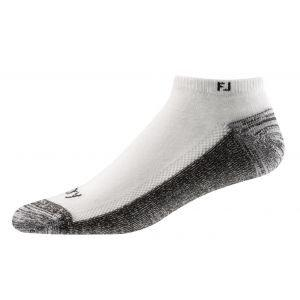 FootJoy Mens ProDry Low Cut Socks White