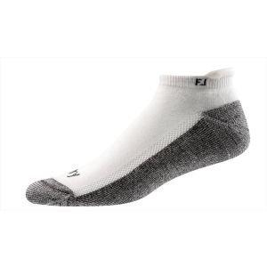 FootJoy Mens Prodry Roll Tab Socks White