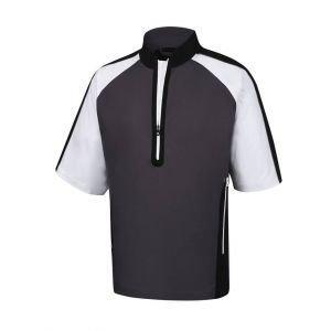 FootJoy Short Sleeve Sport Wind Shirt Charcoal/Black/White - 32618