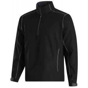 FootJoy Sport Windshirt Golf Pullover Black/Charcoal 32664