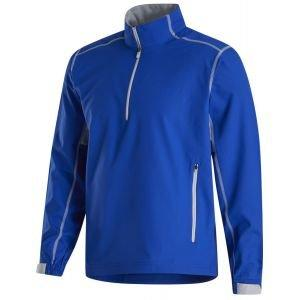 FootJoy Sport Windshirt  Golf Pullover - Royal/ Silver 32665