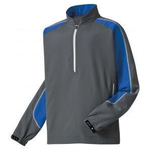 FootJoy Mens Sport Windshirt Charcoal/Royal - 32612