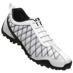 FootJoy Womens Superlite Spikeless Golf Shoes White 98951 - Closeouts