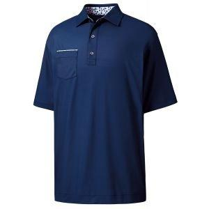 FootJoy Super Stretch Pique Self Collar Golf Polo - 26196