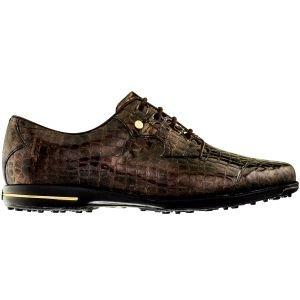 FootJoy Womens Tailored Collection Golf Shoes Bronze Print - 91693