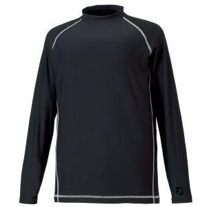 Footjoy Thermal Baselayer Mock Shirt Black 32386