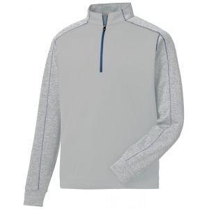 FootJoy Tonal Heather Golf Pullover Grey 25061