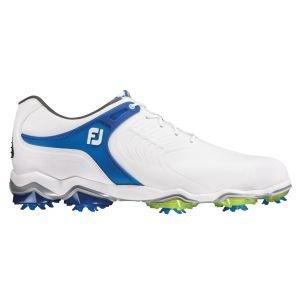 FootJoy Tour-S Golf Shoes White/Blue - 55301