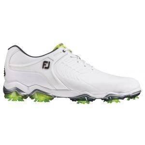FootJoy Tour-S Golf Shoes White/Green - 55300