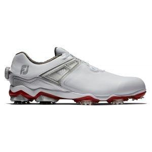 FootJoy Tour X Boa Golf Shoes White/Red 2020