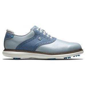 FootJoy Traditions Golf Shoes Grey/Blue