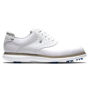 FootJoy Traditions Golf Shoes White/White