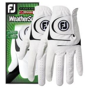 FootJoy Weather Sof 2-Pack Golf Gloves