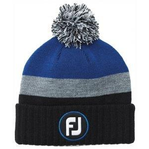 FootJoy Winter Knit Pom Pom Golf Beanie