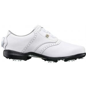 FootJoy Womens Dryjoys Boa Golf Shoes 2020 - White 99017