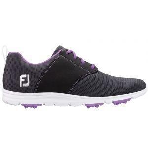 FootJoy Womens Enjoy Golf Shoes Charcoal - 95711
