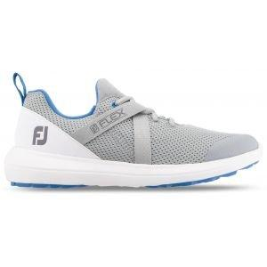 FootJoy Womens Flex Golf Shoes 2019 Grey/White 95727